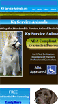 Mobile Preview of k9serviceanimals.org